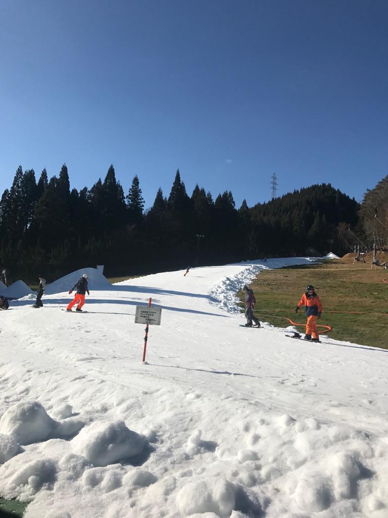 スキー 積雪 めがひら 場